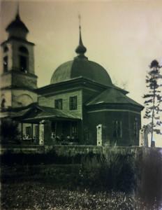 Иоаннобогословский храм с.Ирининское
